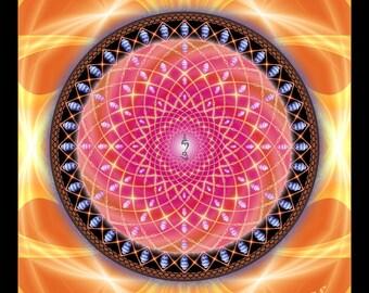 BODDHISATTVAS - Tapestry, Wall Hanging - Pumayana Visionary Art, Spiritual, Psy, Shamanic, Sacred Geometry, Entheogenic Psychedelic Art