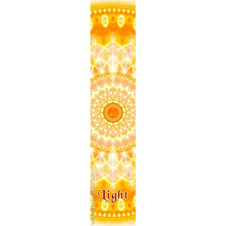 Meditation Spiritual Mindfulness Gift Wall Hanging Yoga Light Wall Hanging Art Healing Tapestry