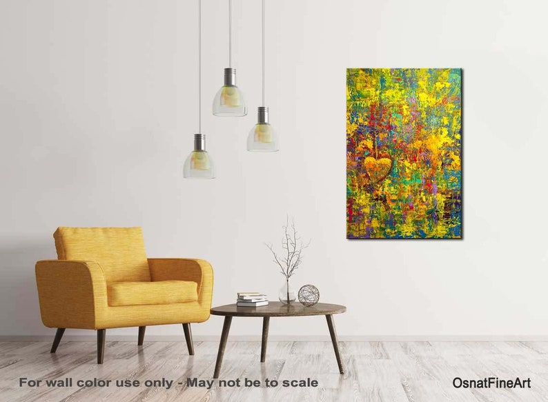 Abstract Painting Canvas Art Print by Osnat PRINT on Canvas Wall Art Abstract Print