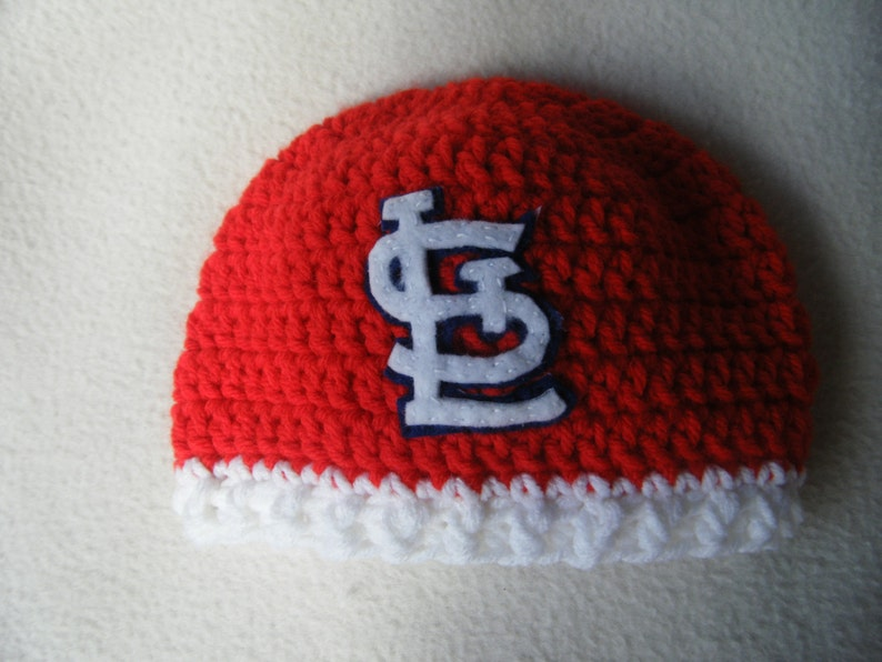 c983d04d Crocheted Cardinals Inspired Beanie/Hat - MADE TO ORDER - Handmade by Me