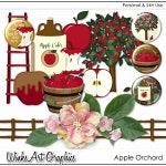 Apple Orchard Digital Clip Art & Scrapbook Elements