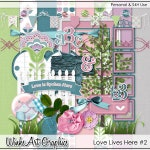Love Lives Here #2 Digital Scrapbook Kit