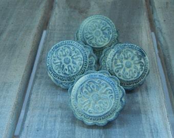 Distressed Metal Decorative Knob