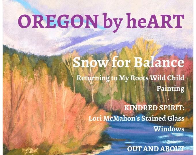 Oregon by heART Premium Art Magazine by Sherri McDowell Artist