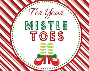 photograph regarding For Your Mistletoes Printable known as Mistletoe tag Etsy