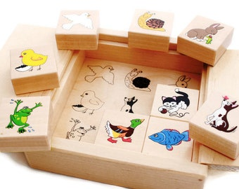 developing wooden toy - my first wooden blocks