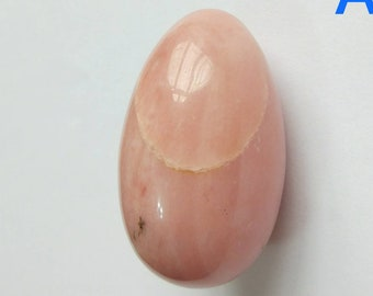 Pink Opal Smooth Egg 30x50 mm One Piece G6828