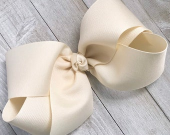 Accessoires Kleidung, Schuhe & Accessoires 10-5.5 Big Hair Bows Boutique Girls Baby Toddler Grosgrain Ribbon Alligatorclip