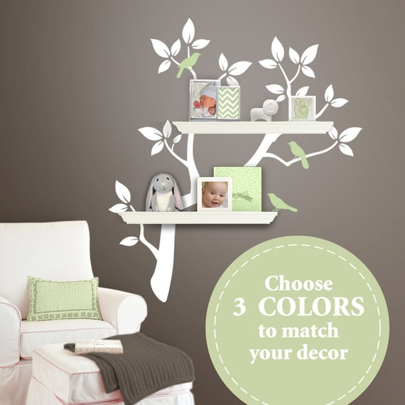 The ORIGINAL Tree Branch Decal For Floating Shelves
