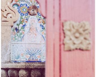 Travel Photography, Tucson, Arizona, The Lost Barrio. Moroccan meets Southwestern 8x12 Fine Art Photograph