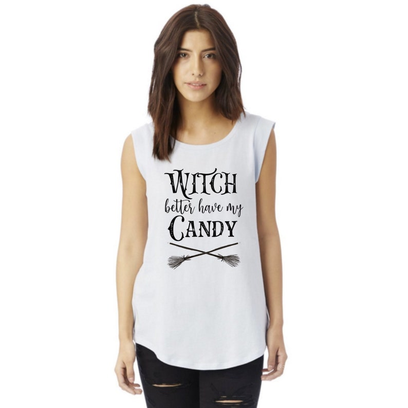 Fall Shirt for Women Halloween Shirt Witch Better Have My image 0