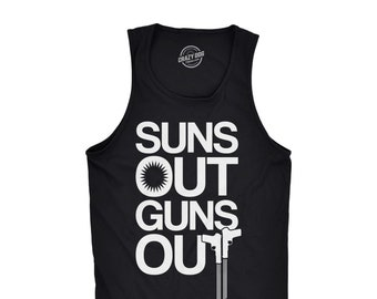 acf6c7536a9cc Suns Out Guns Out Tank Top