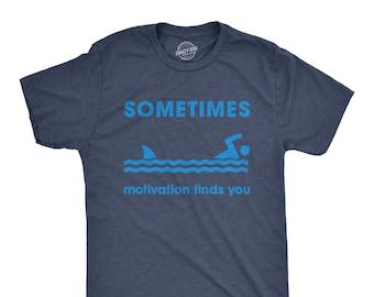 tee Swimming just an Irish Woman Funny Unisex Sweatshirt