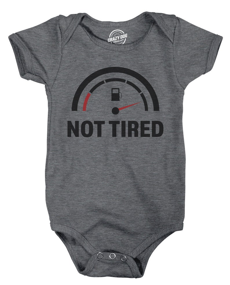 4e7005462 Baby Underwear, Infant Wear, Funny Baby Clothes, Rompers With Sayings, Not  Tired Romper, Cute Romper, Funny Romper, Baby Battery Shirt