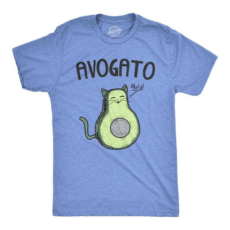 90fb4c6eb6a Cute Cat T Shirt Mens Avocado T Shirt Mens Cat T shirt Cat