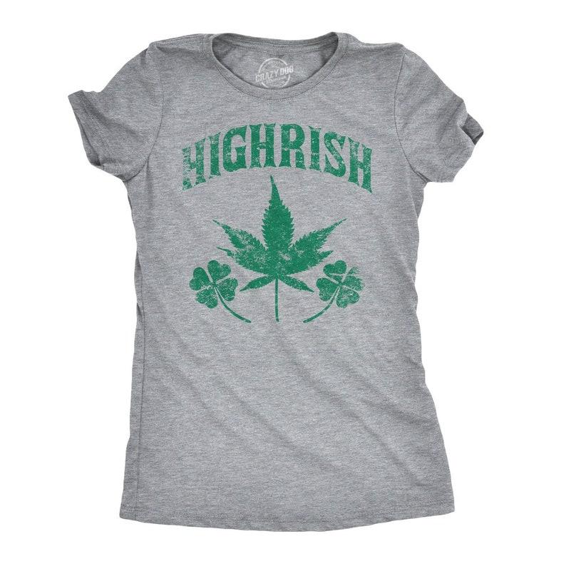 7569a8e5 HIGHRISH Drunk Irish Top Irish Drinking Shirt Irish Pub | Etsy
