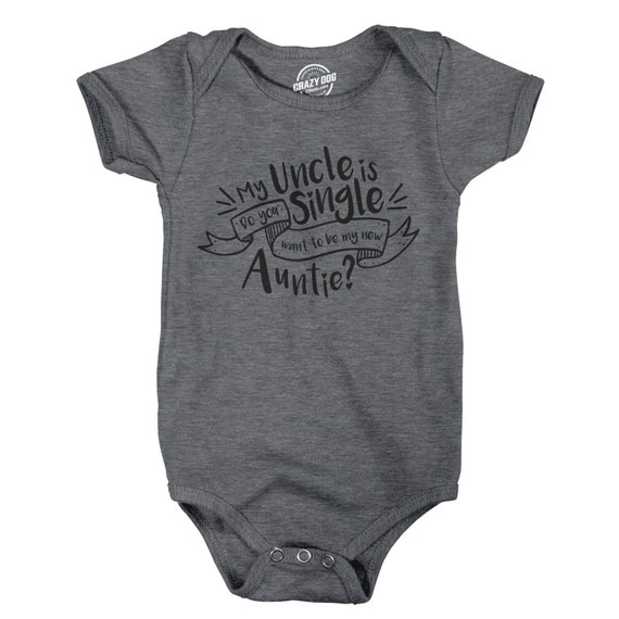 Gift For Baby From Uncle Baby Undershirts Funny Baby Clothes My