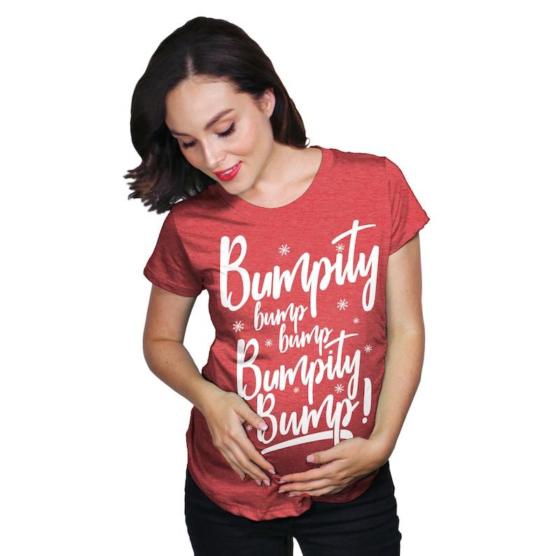 1443a5c4fdc Christmas Maternity ShirtBumpity Bump Bump Christmas