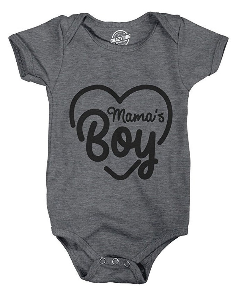 9c3054d4f Baby Undershirts Funny Baby Clothes Mamas boy Rompers With