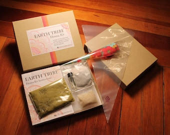 Earth Tribe Henna Kit