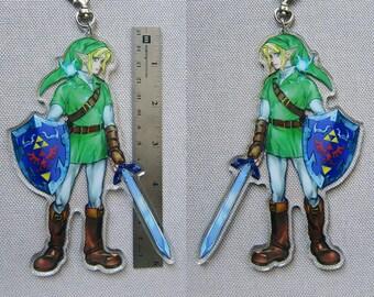 "BIG 6"" Link Charm Ocarina of Time"
