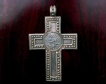 Sterling Silver Venetian Cross