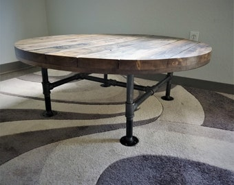 Amazing Pipe Coffee Table Etsy Machost Co Dining Chair Design Ideas Machostcouk