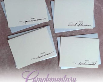 Thank You Cards, Personalized Thank You Cards, Wedding Thank You Cards