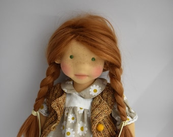 "CLARISSA   17"" waldorf doll"