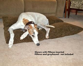 Large Dog Bed Pillow Pocket