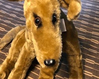 Greyhound plush toy