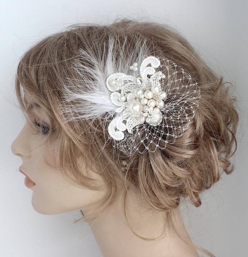 Bridal Hair Accessory Bridal Hair Comb Hair Accessories Birdcage Hair Comb Bridal Hairpiece Wedding Hairpiece Jeweled Bridal Comb