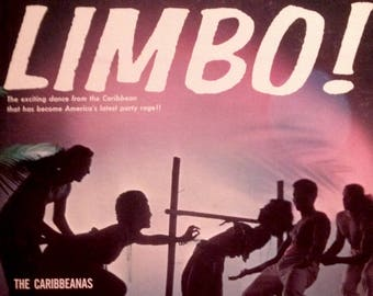 CALYPSO Limbo With LORD RHUMBAGO And The Carribeans LiMBO! Island 1960s Retro ExOtIcA Vinyl Lp Record Album Carribbeanas Diplomat DS2277