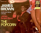 the JAMES BROWN band The PoPCoRN Factory Sealed PoLYDOr KSD 1055 Vinyl Lp Record Album 1969 Classic FuNK Soul 180 Gram Reissue