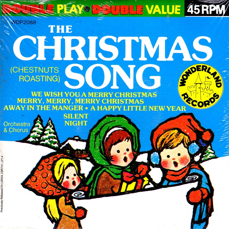 Vintage SEALED the CHRISTMAS Song CHESTNUTS Roasting Holiday image 0