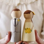 Customized, Hand Painted Cake Topper