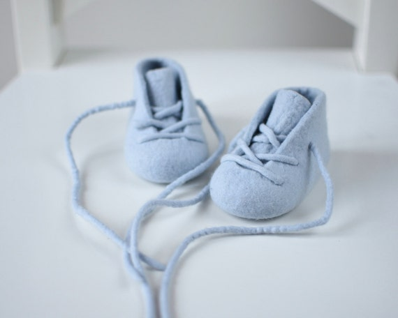 Baby boy booties New baby gift Baby