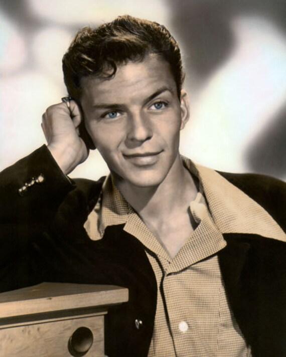 f560b1bb5419c Frank Sinatra Hollywood Actor Singer & Songwriter 8x10 | Etsy