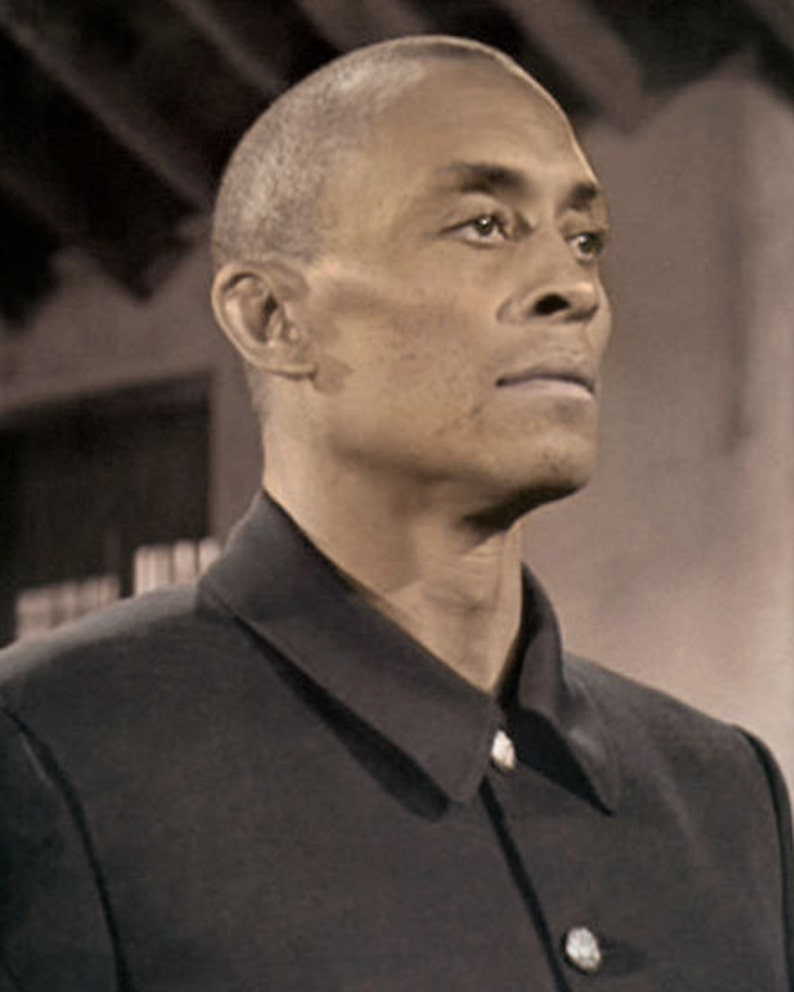 Woody Strode at Brians Drive-In Theater