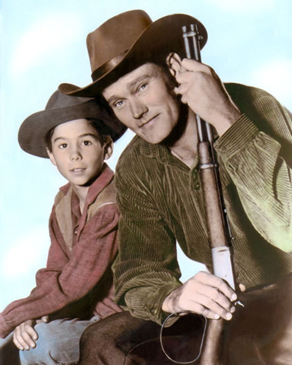 """CAST of WAGON TRAIN 1960s TELEVISION WESTERN  8x10/"""" HAND COLOR TINTED PHOTOGRAPH"""