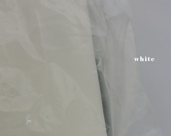 """Soft Illusion Tulle Ivory Nylon 108"""" High Quality  Fabric by the Yard- veil fabric"""