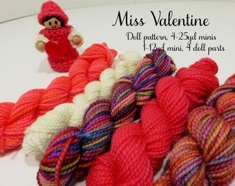 Miss Valentine Knit Kit