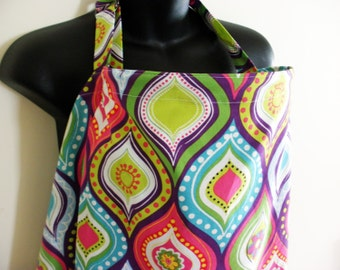 Nursing Cover Up - Let's Party  - Perfect for the Modest Nursing Mom