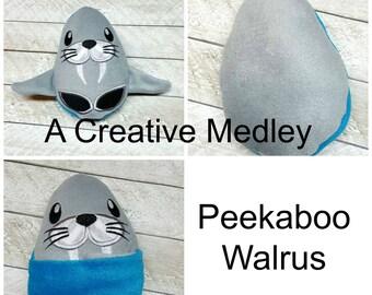Peekaboo Walrus