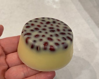 Chai Tea Massage Lotion Bar- All Natural Romantic gift for him or her with free storage container.