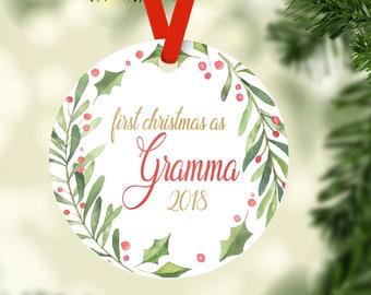 Grandma To Be Personalized Christmas Ornament Pregnancy   Etsy