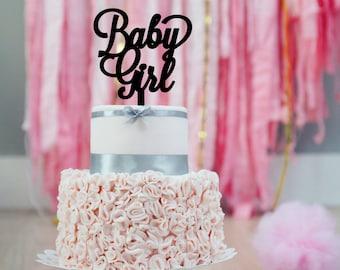 Baby Girl Shower Cake Topper | Baby Shower Cake Topper | Baby Girl