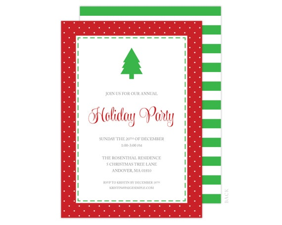 photograph regarding Free Printable Christmas Invitations known as Xmas Celebration Invitation - Xmas Invitation, Getaway