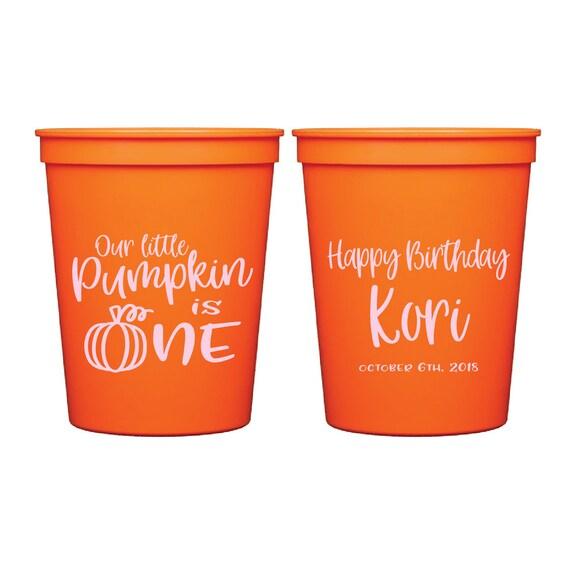 Birthday Party Birthday Stadium Cups Oh Snap Gingerbread Birthday Personalized Stadium Plastic Cups Birthday Favor Winter Birthday