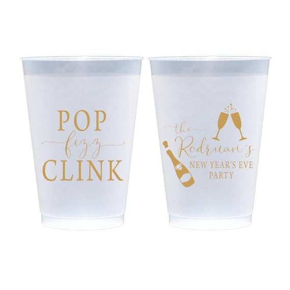 Pop Fizz Clink Pop Fizz Clink Couples Shower Cups Wedding Favors Pop Fizz Clink Cups Party Cups 1626 Party Favors Party Gifts
